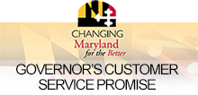Governor Larry Hogan's Customer Service Promise